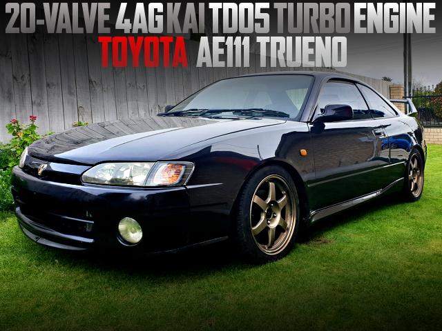 20V 4AG TD05 TURBO ENGINE INTO AE111 TRUENO