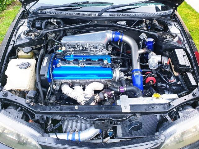 20-VALVE 4AGE TD05 TURBO ENGINE