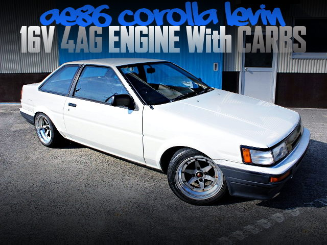 16V 4AG on dual Carbs Into Ae86 Corolla Levin