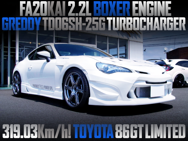 FA20 2200cc TD06SH-25G TURBO ENGINE INTO A TOYOTA 86GT