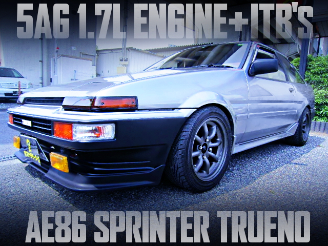 5AG 1700cc with ITBs INTO AE86 SPRINTER TRUENO