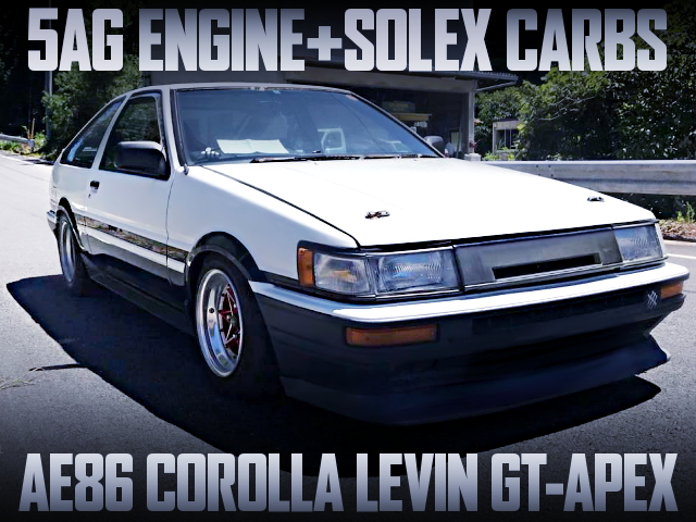 5AG AND SOLEX CARBS WITH AE86 LEVIN GT APEX