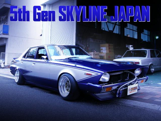 KAIDO RACER LONG NOSE OF C211 SKYLINE JAPAN