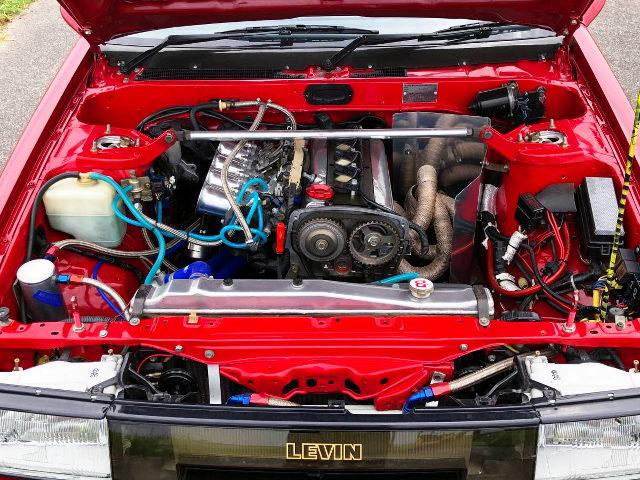 20-VALVE 4AG ENGINE INTO AE86 LEVIN