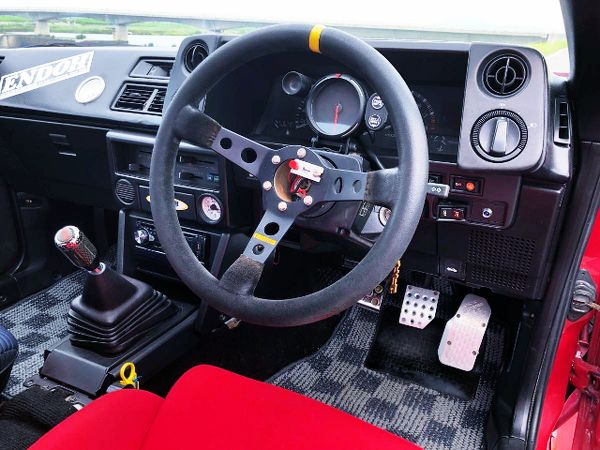 AE86 LEVIN CUSTOM DASHBOARD