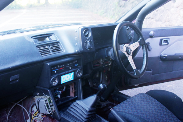 DASHBOARD FOR AE86 LEVIN HATCH INTERIOR