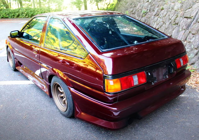 REAR EXTERIOR AE86 COROLLA LEVIN HATCH