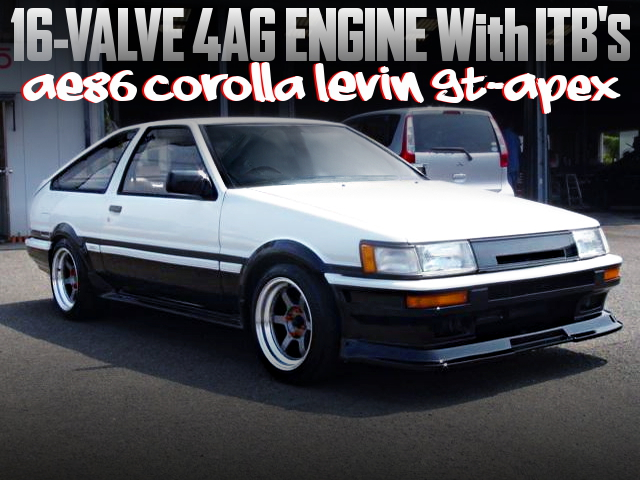 16V 4AG with ITBs OF AE86 COROLLA LEVIN GT APEX