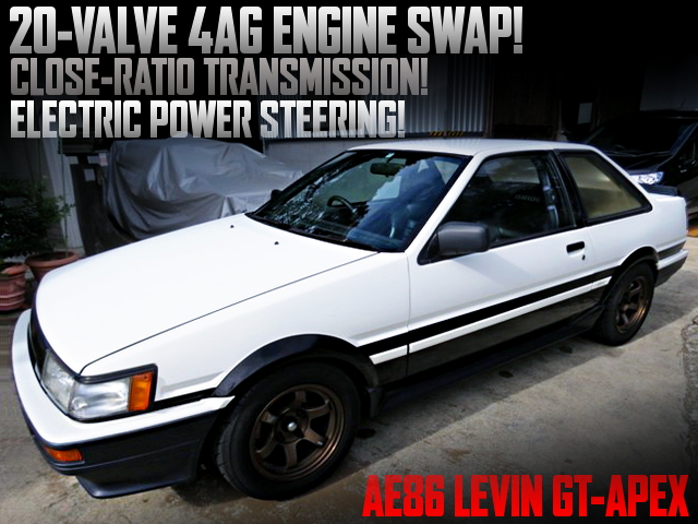 20V 4AGE SWAPPED AE86 PANDA LEVIN GT-APEX