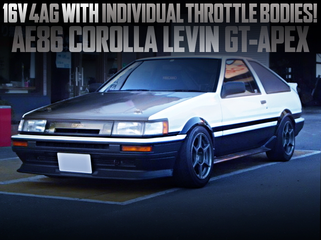16V 4AG with ITBs OF AE86 LEVIN GT APEX