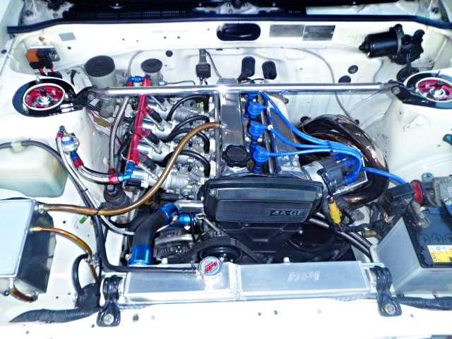 16V 4AG ENGINE WITH INDIVIDUAL THROTTLE BODIES