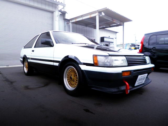 FRONT EXTERIOR AE86 COROLLA LEVIN HATCHBACK