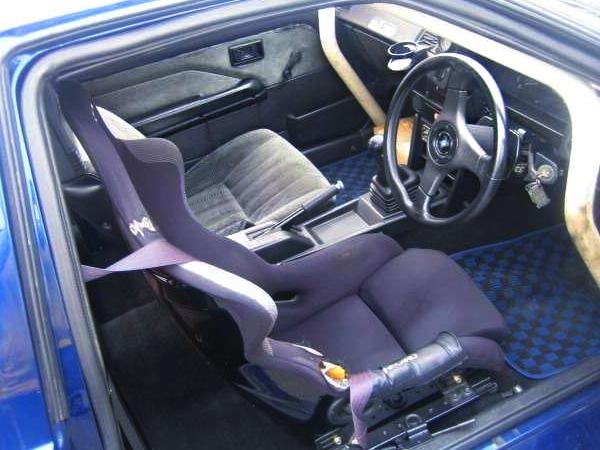 INTERIOR DASHBOARD OF AE86 TRUENO