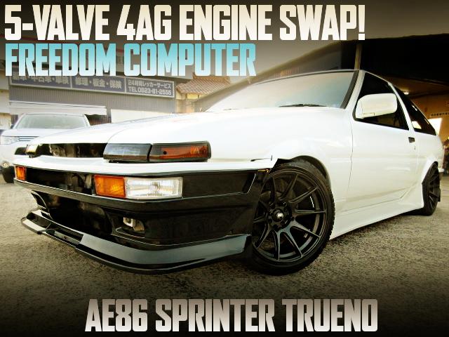5V 4AG SWAPPED AE86 SPRINTER TRUENO