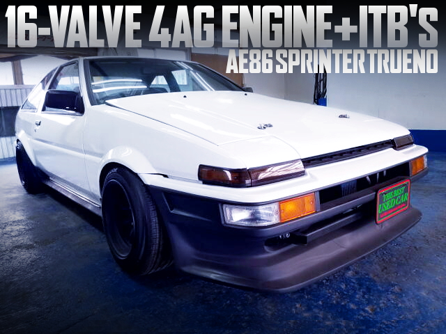 AE92 4AG AND ITBS INTO AE86 SPRINTER TRUENO