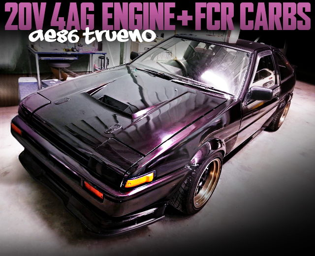 20V 4AG with FCR CARBS OF AE86 SPRINTER TRUENO