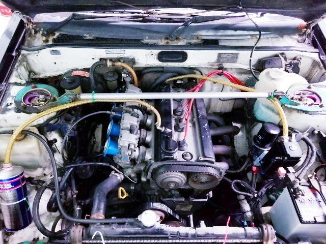 FCR CARBS ON 20V 4AG ENGINE