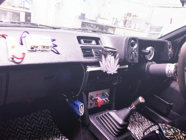 AE86 TRUENO DASHBOARD