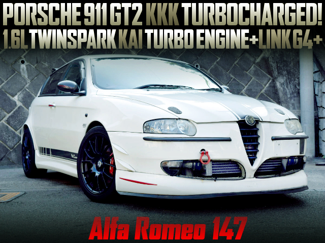 1600cc TWINSPARK ENGINE With TURBO OF ALFA ROMEO 147