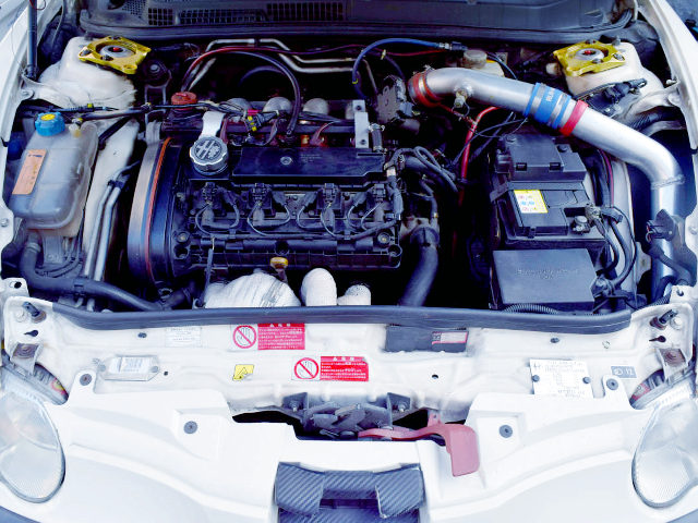 1600cc TWINSPARK ENGINE WITH TURBO