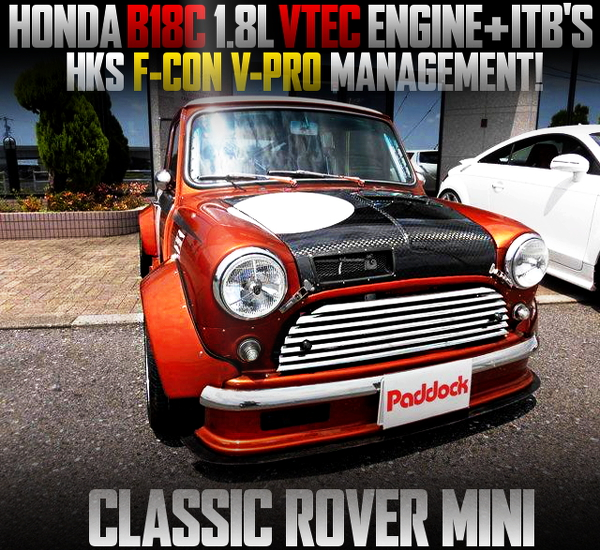 B18C VTEC ENGINE SWAPPED ROVER MINI