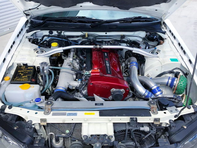 RB26 TWINTURBO ENGINE OF R34 GT-R