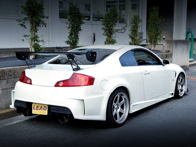 REAR EXTERIOR V35 SKYLINE COUPE 350GT
