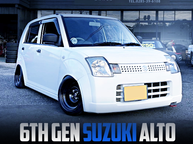 CAMBER ANS STANCE OF 6th Gen SUZUKI ALTO