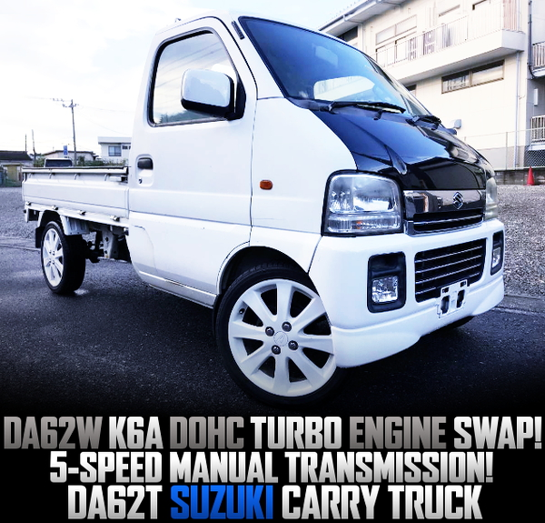 K6A TURBO ENGINE SWAPPED DA62T CARRY TRUCK