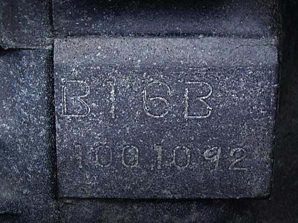 B16B BLOCK