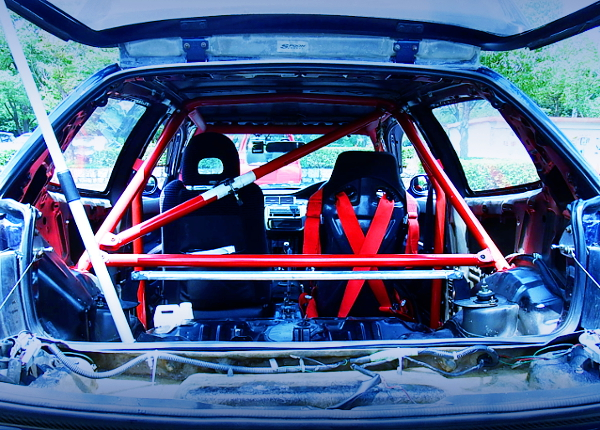 ROLL CAGE AND TWO-SEATER