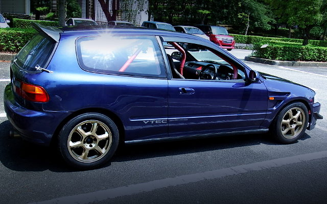 RIGHT SIDE EXTERIOR FOR EG6 CIVIC SIR2