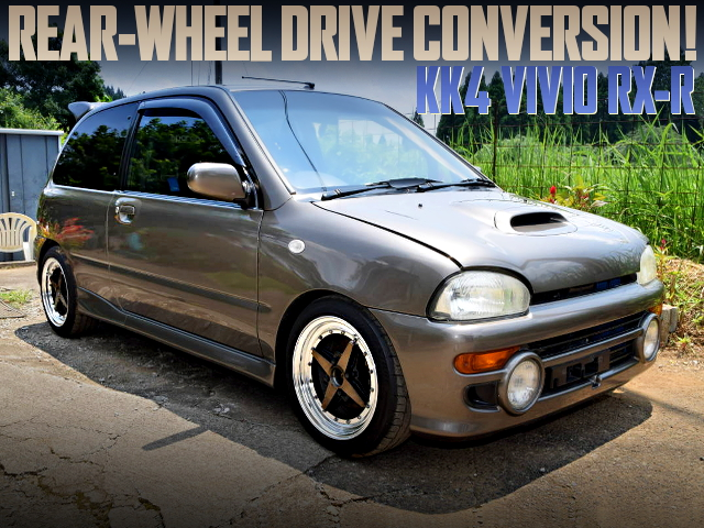 RWD CONVERSION OF KK4 VIVIO RXR