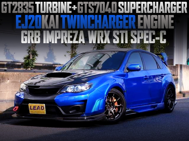 EJ20 TWINCHARGER ENGINE INTO GRB IMPREZA WRX STI SPEC-C