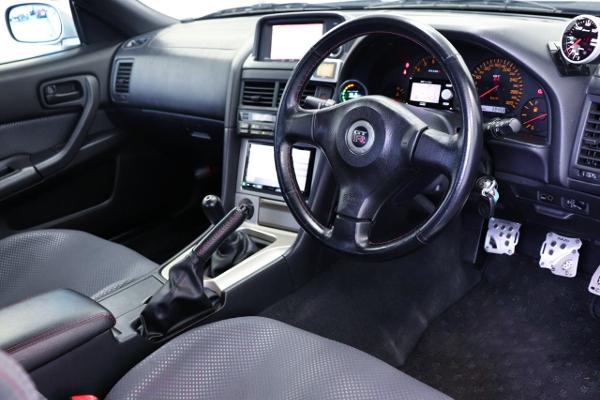 INTERIOR R34 SKYLINE GT-R