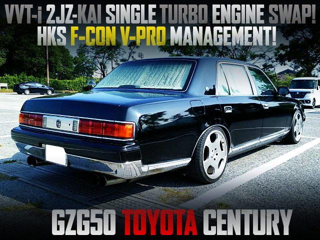 2JZ-GTE SINGLE TURBO SWAPPED GZG50 CENTURY