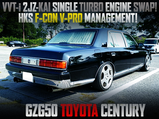 2JZ-GTE SINGLE TURBO SWAPPED GZG50 CENTURY