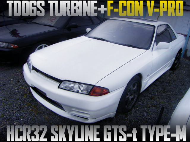 TD06S TURBOCHARGED HCR32 SKYLINE 2-DOOR GTS-t TYPW-M