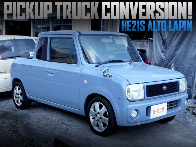 PICKUP TRUCK CONVERSION FOR HE21S ALTO LAPIN