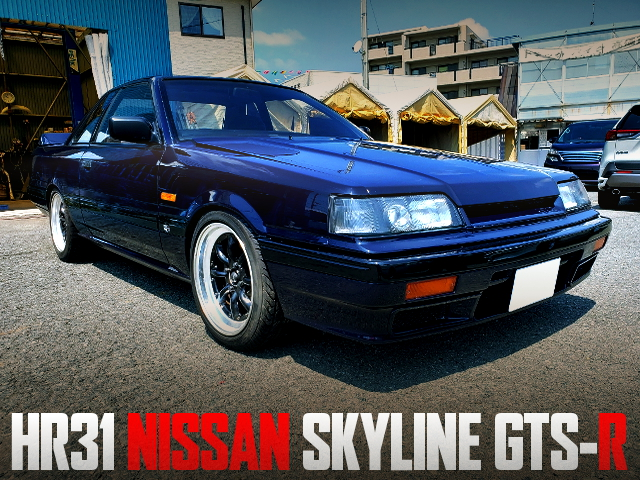 GROUP-A RACE HOMOLOGATION MODEL R31 SKYLINE GTS-R