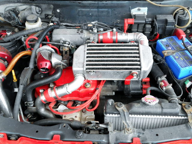 F6A SOHC TURBO ENGINE