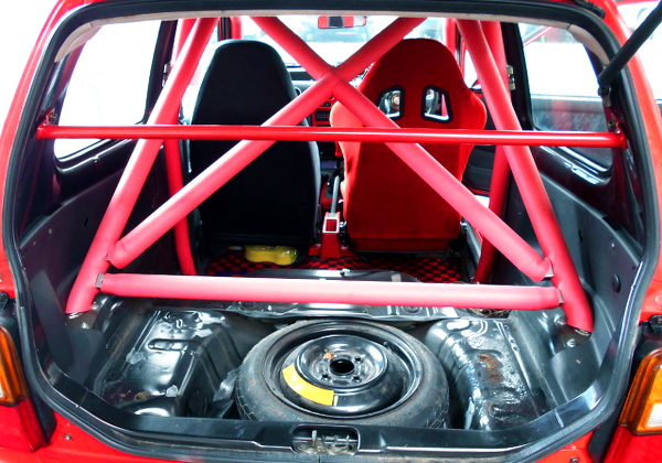 ROLL BAR AND TWO SEATER