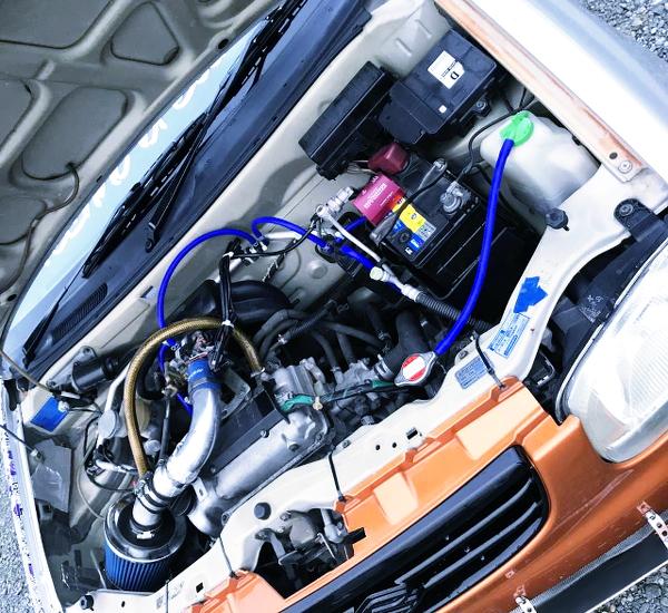 NATURAL ASPIRATION OF K6A 660cc DOHC ENGINE