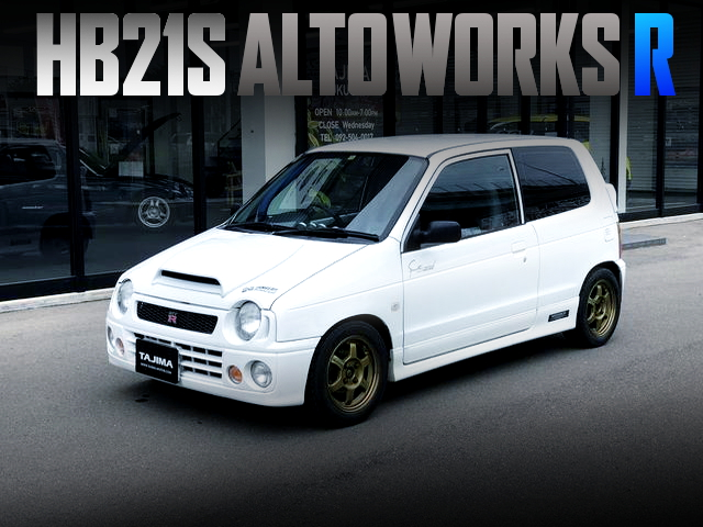 RACE BASE MODEL OF HB21S ALTO WORKS R