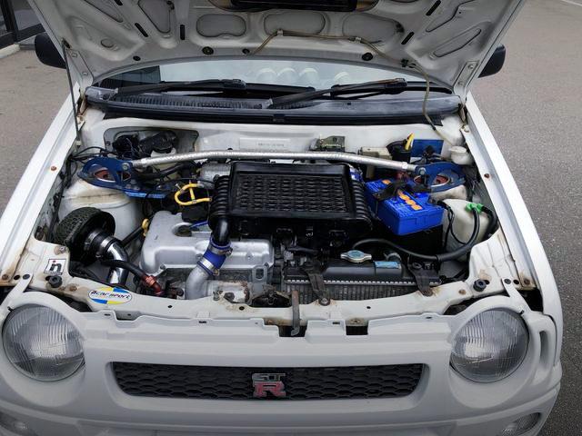 K6A DOHC TURBO ENGINE OF HB21S ALTO WORKS R