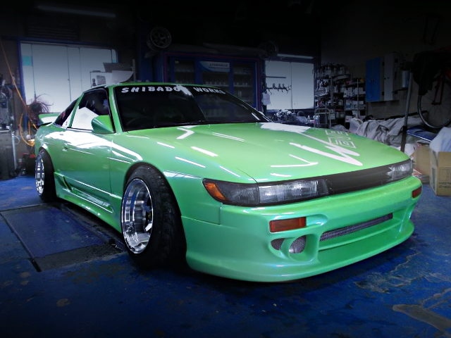 FRONT EXTERIOR S13 SILEIGHTY AND GREEN COLOR