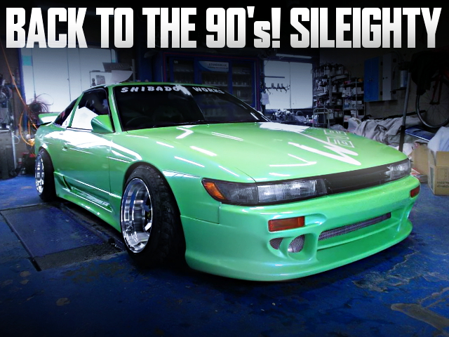 90s STYLE JDM DRIFT CAR BUILD OF SILEIGHTY 180SX