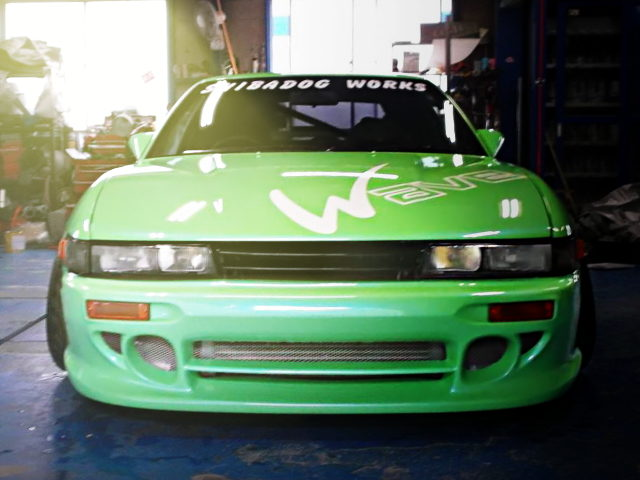 FRONT S13 SILVIA FACE