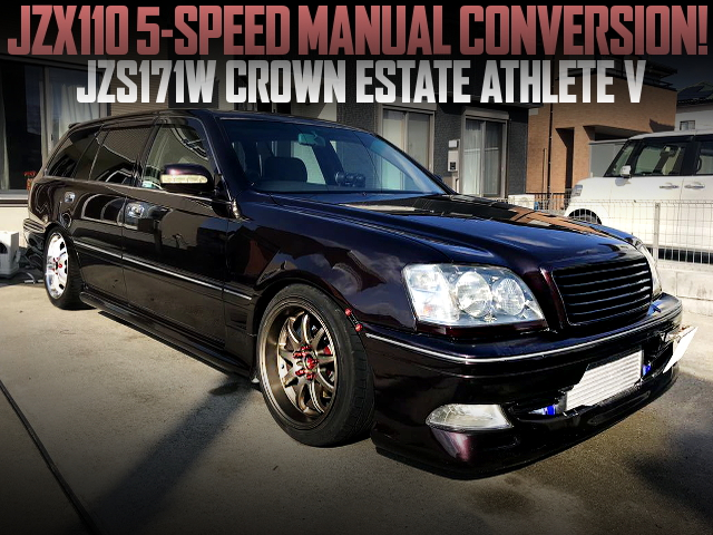 5MT CONVERSION JZS171W CROWN ESTATE ATHLETE-V