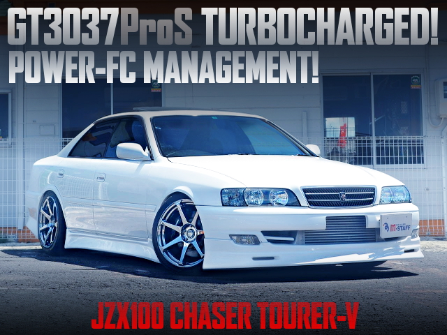 GT3037PROS TURBOCHARGED JZX100 CHASER TOURER-V